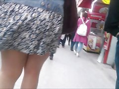 My first upskirt video :)