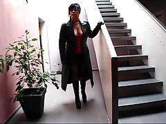 femdom pov leather