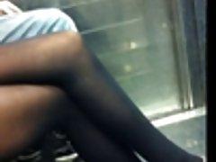 candid sexy pantyhose subway 9280065