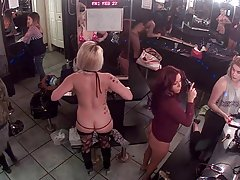 Strippers doing hair an makeup