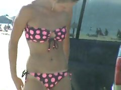 Pussy Slip Bikini Change