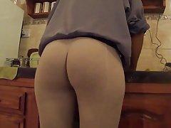Leggings at home
