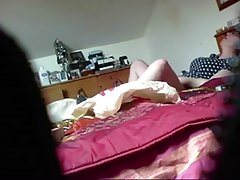 mature masturbating in pantys (voyeur 2 clips)