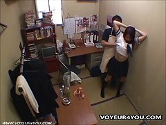 Sex Store Owner Fucking Shoplifting Schoolgirls