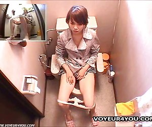 Onanism In Girl Dorm Restrooms