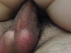 Fucking and cumming in my wife's pussy