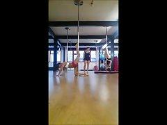 British Pole Dancing Student