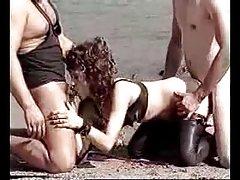 Amateur - Rare Classic Ulrike german slave in public