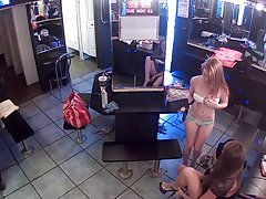 Strippers hanging out