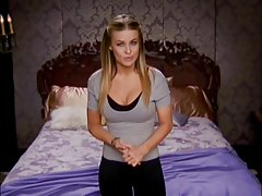Carmen Electra - Bedroom Strip-Tease Workout