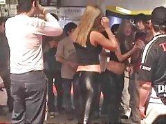 Promotora Spandex Negro Argentina