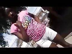 sweaty ebony cameltoe  by loyalsock