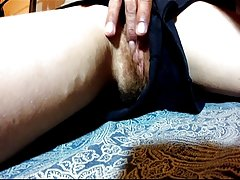 Hairy amateur peluda wife leg massage fuck begging