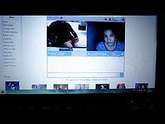 webcam cumshot to female voyeur