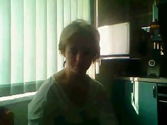 Russian Mature with huge tits on chatroulette
