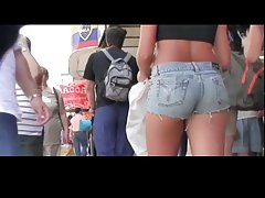 Tight Shorts In Public Streets BVR