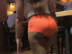 Candid hooters girl asses