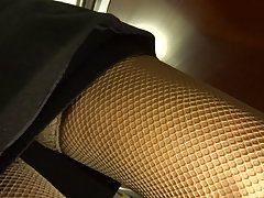 stockings upskirt 20