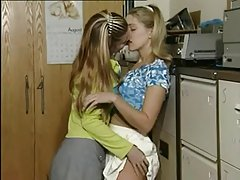 Fay and Estelle - Lesbian Teens