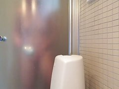 Caught my milf masturbate in shower